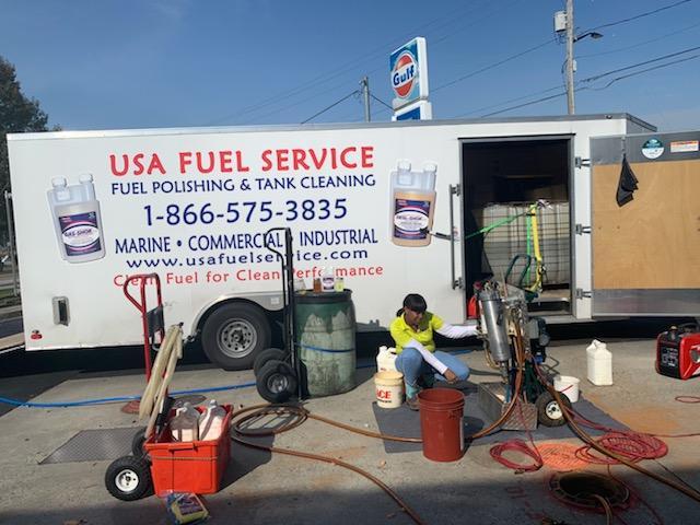 USA Fuel trailer