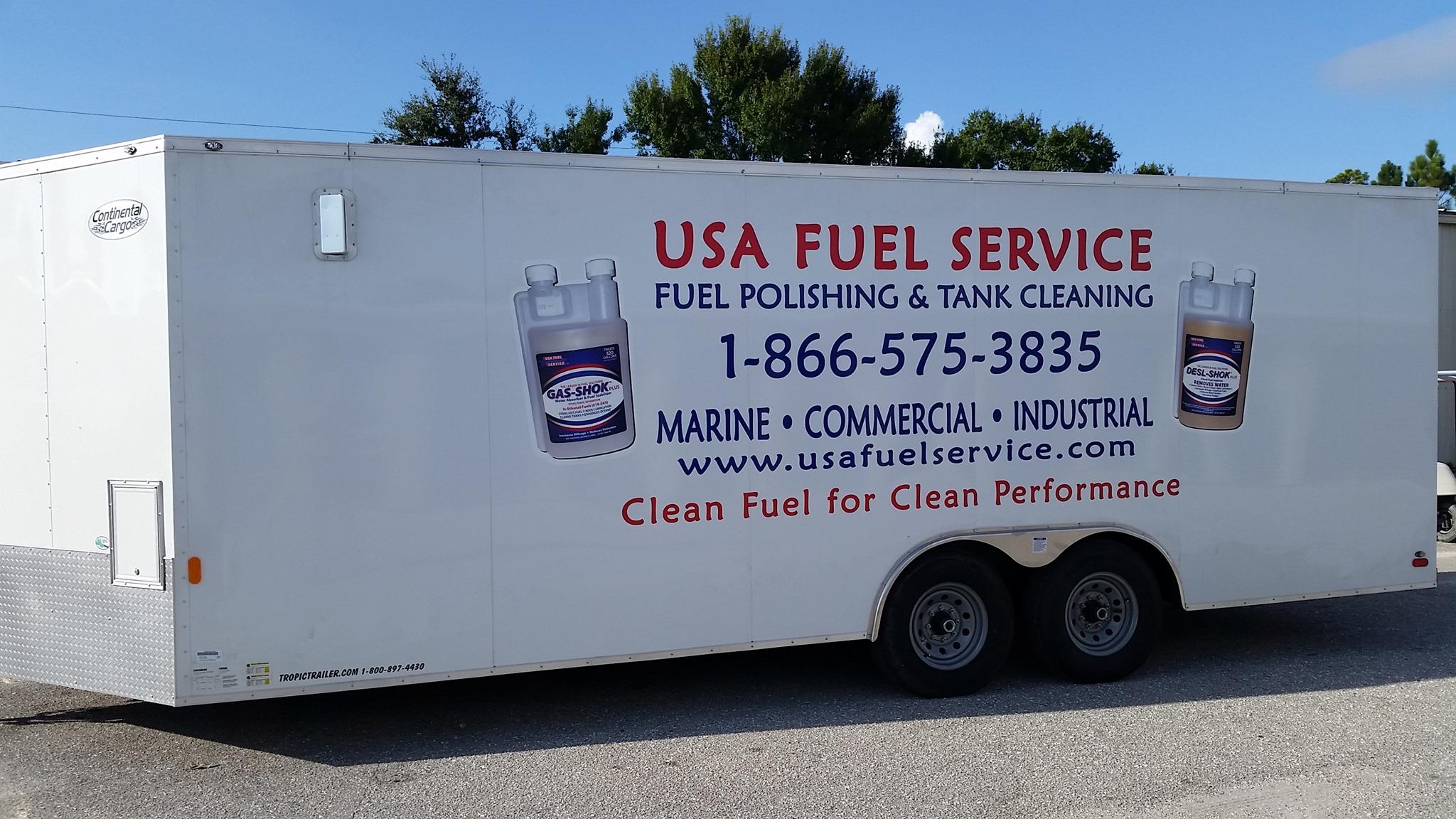 USA Fuel Service Trailer