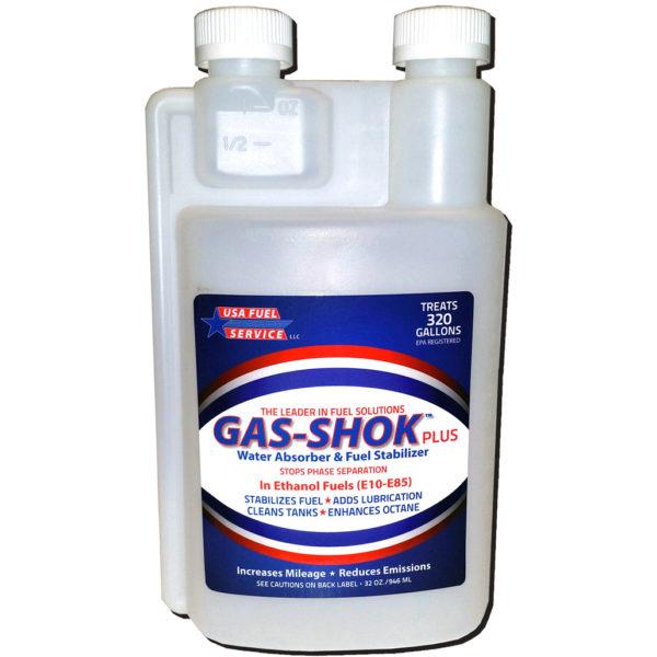 gas shok 32 ounces fuel additive
