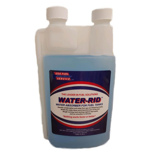 water rid absorber for fuel tanks