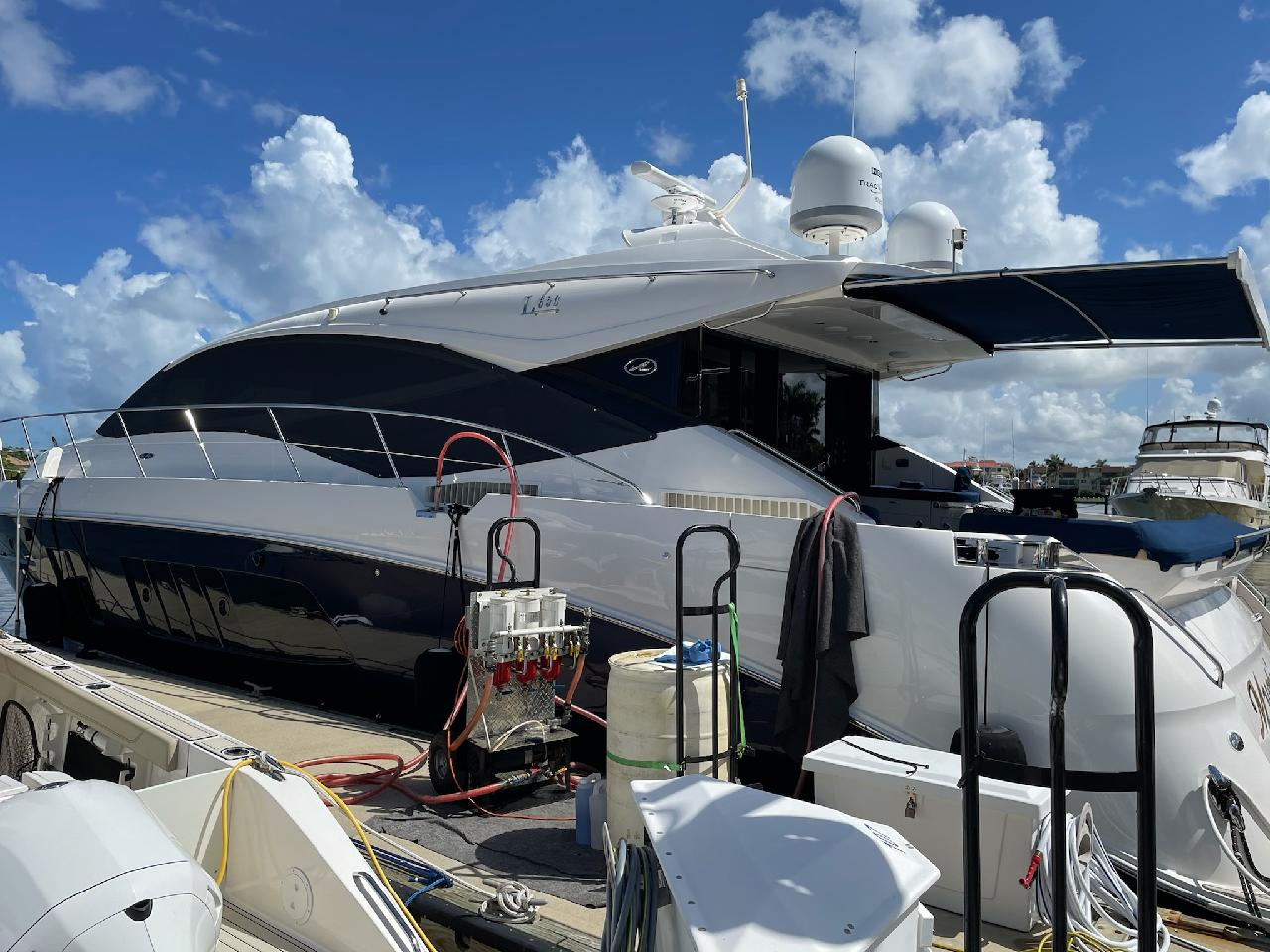 fuel polishing in a boat in Charleston South Carolina